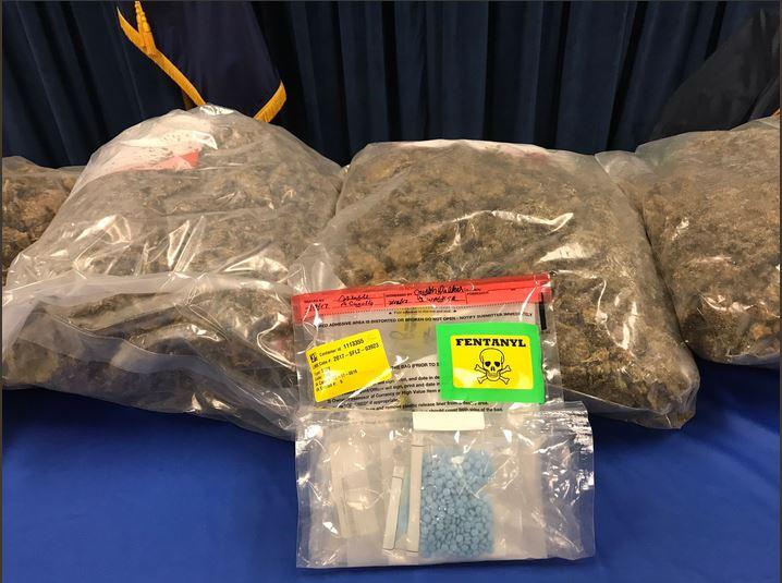 含了致命芬太尼的毒品偽裝成止痛藥販售。(紐約州總檢察長史樹德推特)