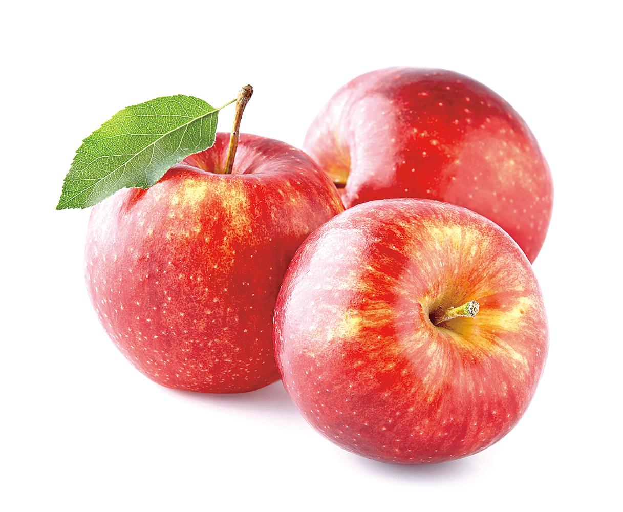 蘋果富含可預防癌症的類黃酮(flavonoids),對人體很有幫助。
