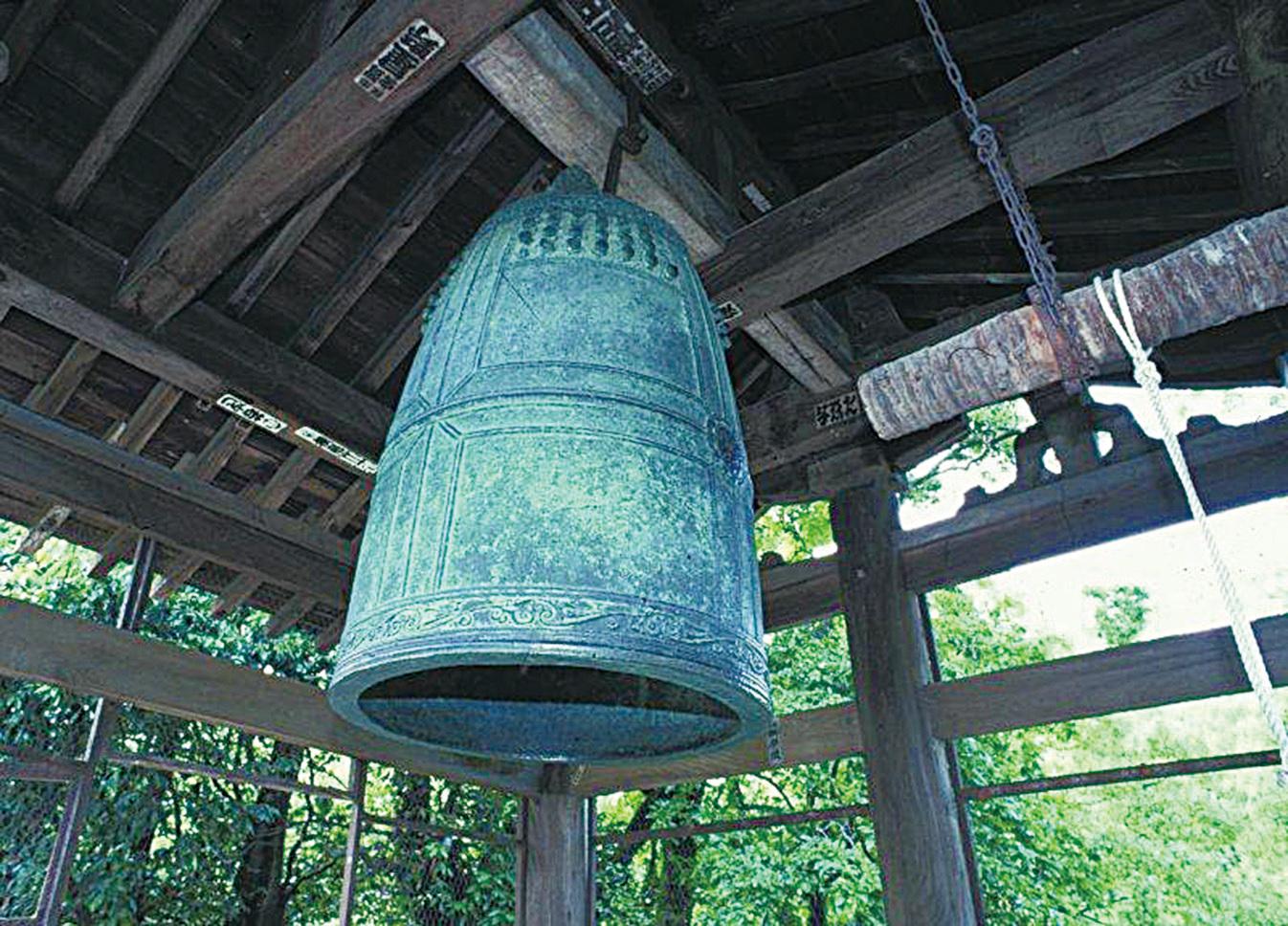 寺院中的鐘。(網絡圖片)