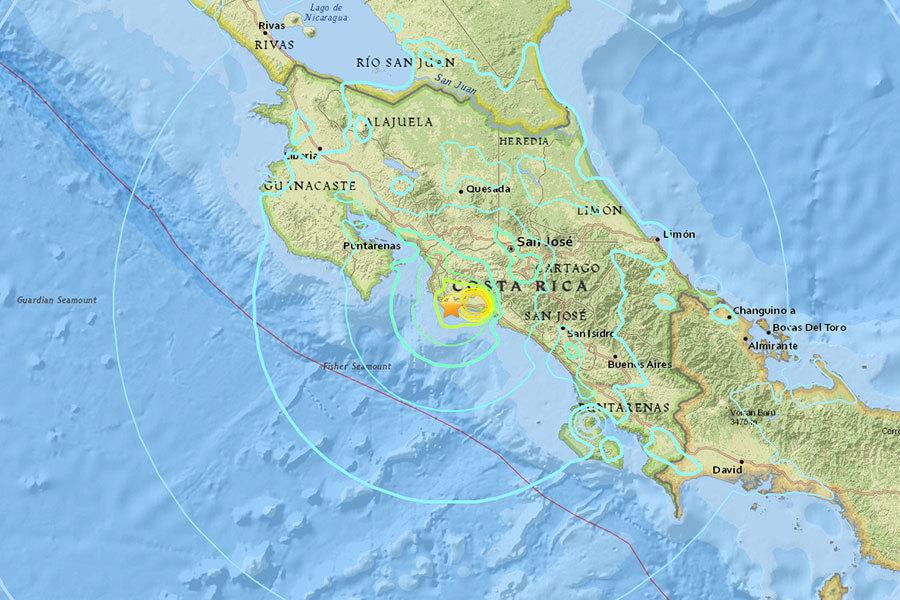 哥斯達黎加6.5級地震 民眾驚慌奔逃
