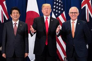 在返美之後 特朗普將就北韓問題作重大宣佈