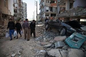 兩伊邊境地震死亡人數逾400 近7000傷