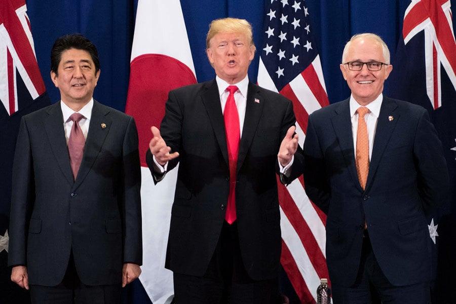 亞洲行將結束 特朗普:回國發佈兩重大政策