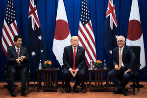 美日澳首腦會談 討論北韓中共及印太戰略