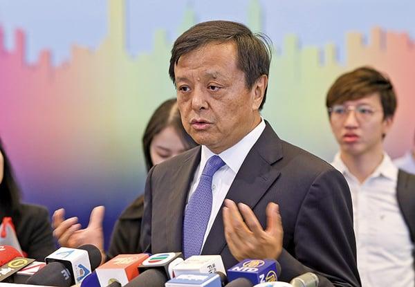 港交所行政總裁李小加。(余鋼/大紀元)