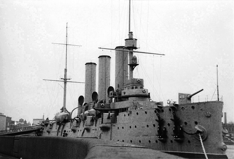 阿芙樂爾巡洋艦。