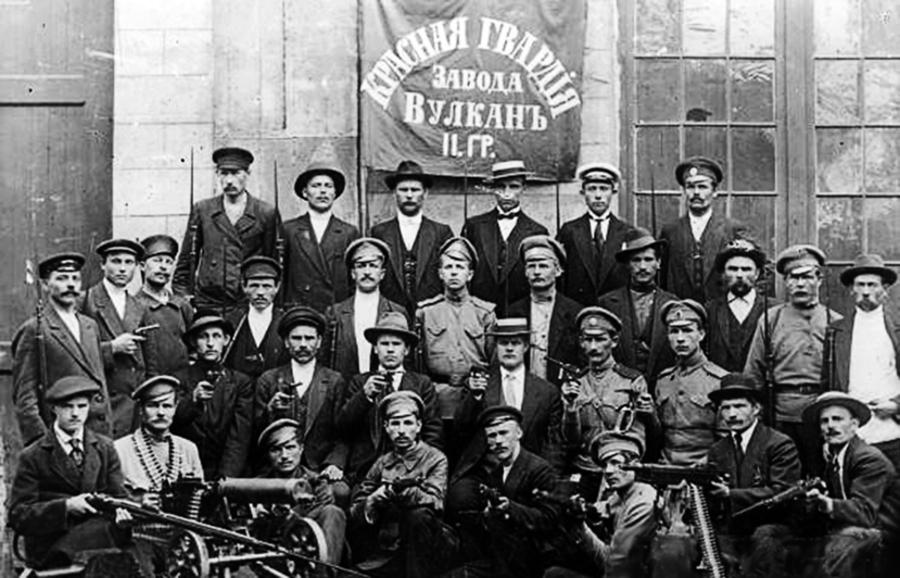 「十月革命」——列寧發動的一場軍事政變