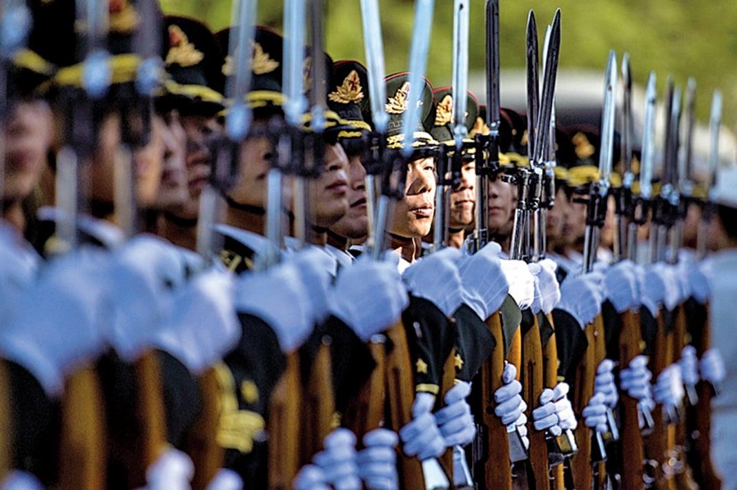 第二波軍改,預計將有超過10萬人要脫掉軍裝,變成文職人員。(AFP)