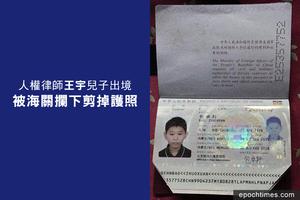 楊寧:道路自信下被剪掉的護照