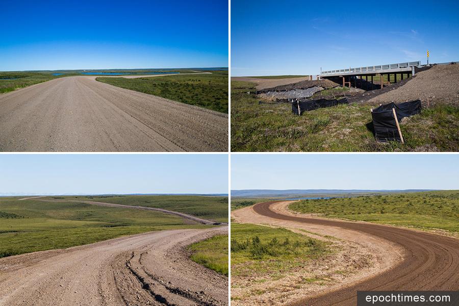 加拿大首條通往北冰洋的高速路,將於2017年11月15日正式開通。(加拿大西北地區政府)