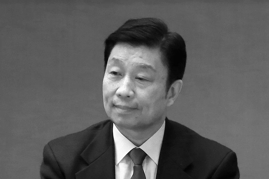 未到退休年齡的中共國家副主席李源潮在「十九大」上被踢出局,其未來去向引關注。(Feng Li/Getty Images)