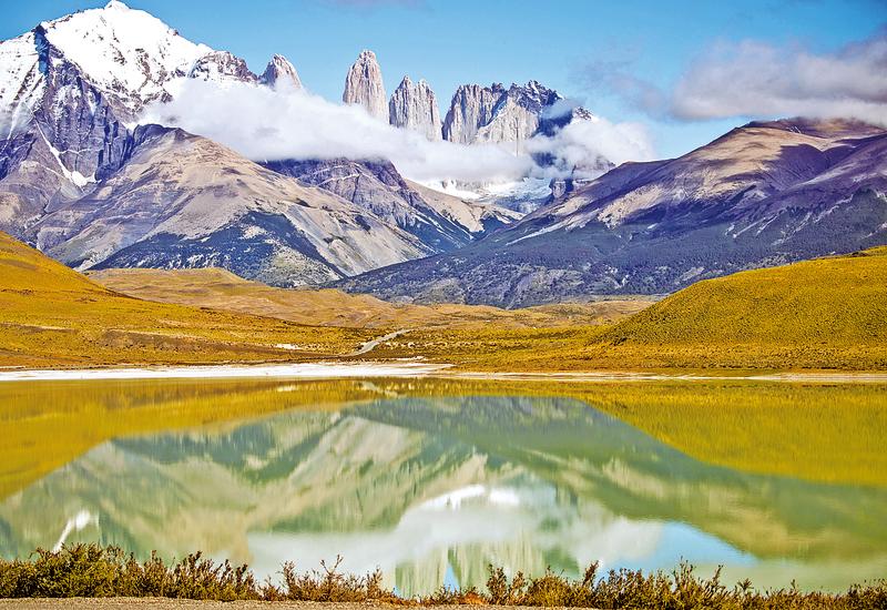 智利百內公園 遊客的天堂