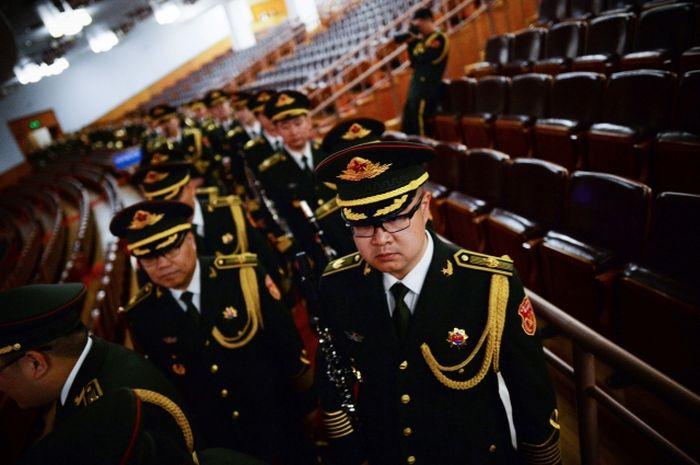 江澤民治軍13年時,已經種下了十七屆中央軍委班子全部爛掉之果的因。(Getty Images)