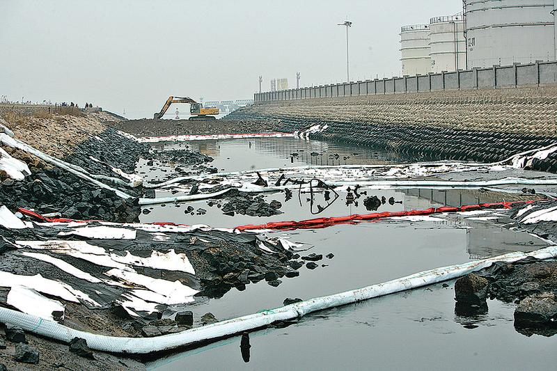 中國環境污染問題嚴重。(Getty Images)