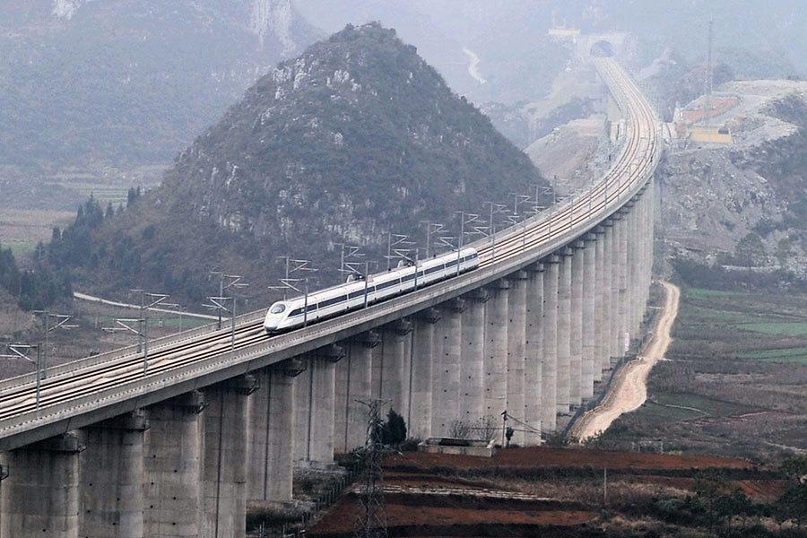 集體造假 中國滬昆高鐵揭「豆腐渣」隧道