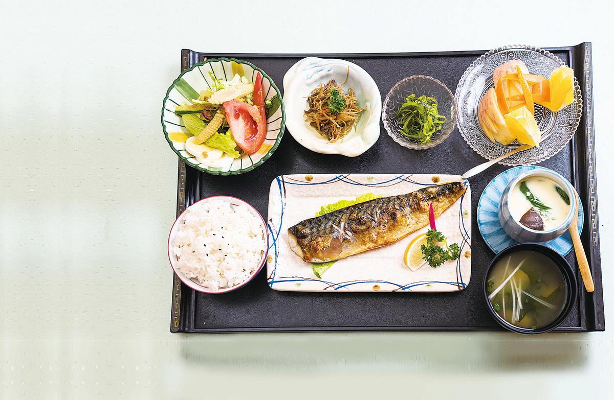 日本料理注重五色五味的合理搭配。(iStock.com)