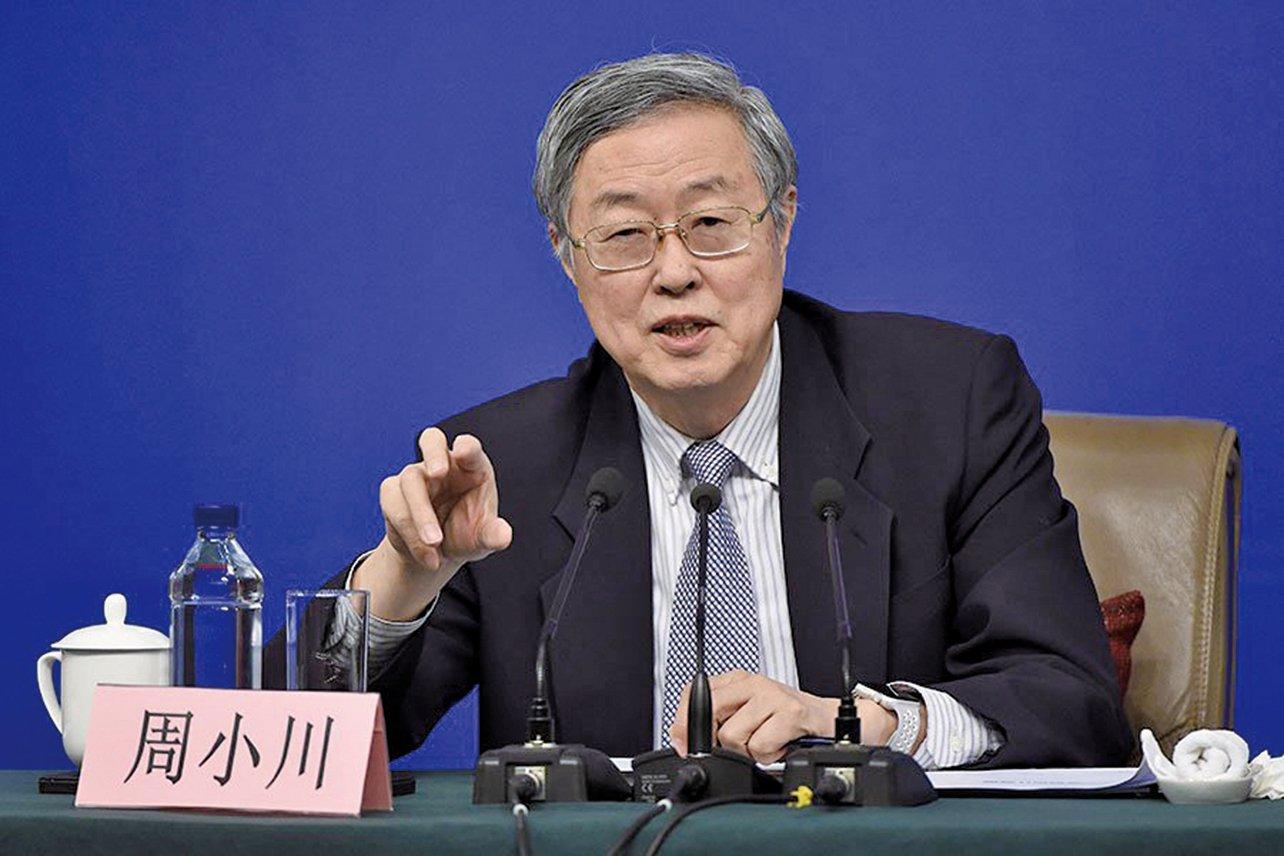 現年69歲的中共央行行長周小川,早已過了中共正部級退休的年齡。(Getty Images)