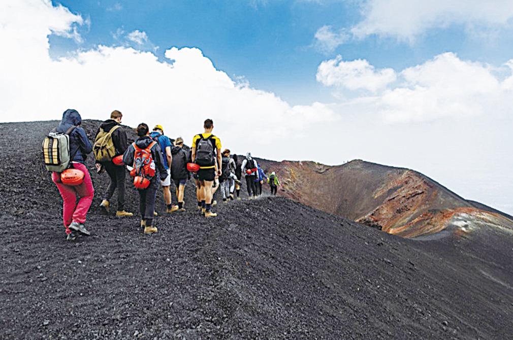 埃特納火山(Etna)。(shutterstock)
