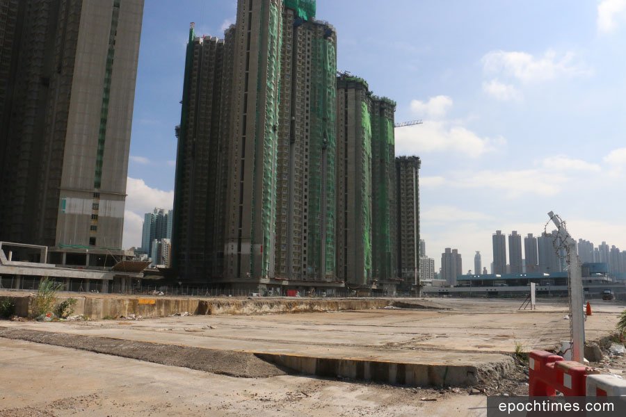 長沙灣臨海地成為香港「新地王」。(陳仲明/大紀元)