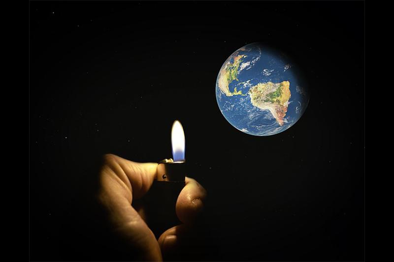 全球184個國家共一萬五千多名科學家11月13日發表第二版聯合聲明,指出地球因為人類行為正在走向徹底崩潰,呼籲人類應該馬上採取行動。示意圖。(Pixabay)