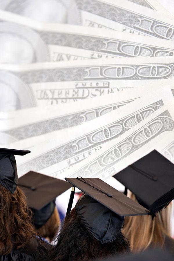 中國財政部官網公告,台灣學生若想申請獎學金,必須先「認同一個中國」。圖為學生畢業典禮。(Fotolia)