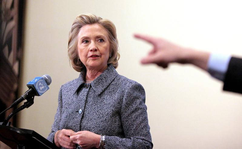 近日美國媒體曝光了希拉莉・克林頓在2008年競選期間,包庇被指性騷擾的幕僚,而希拉莉近日輕描淡寫的回應激起美國媒體人的抨擊。(Yana Paskova/Getty Images)