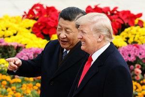 特朗普說跟習永遠是朋友 預言兩國有偉大未來