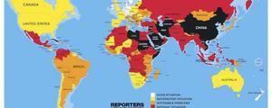 香港新聞自由指數全球69位