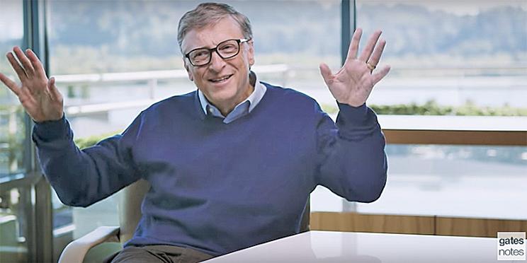 比爾蓋茨注資 1 億美元用於阿茲海默症研究。(網絡圖片)