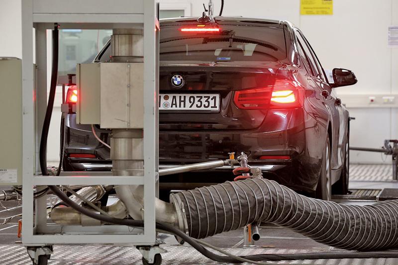 德國另一名車寶馬汽車(BMW)其中一款柴油車,也被查出超出歐盟的廢氣排放標準,高出達11倍。(Getty Images)