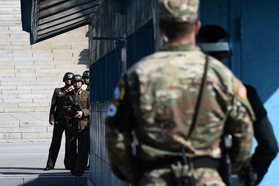 韓媒:追擊投誠士兵 朝軍子彈飛越分界線