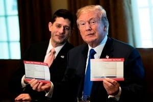 參院小組通過稅改 特朗普有望獲重大立法勝利
