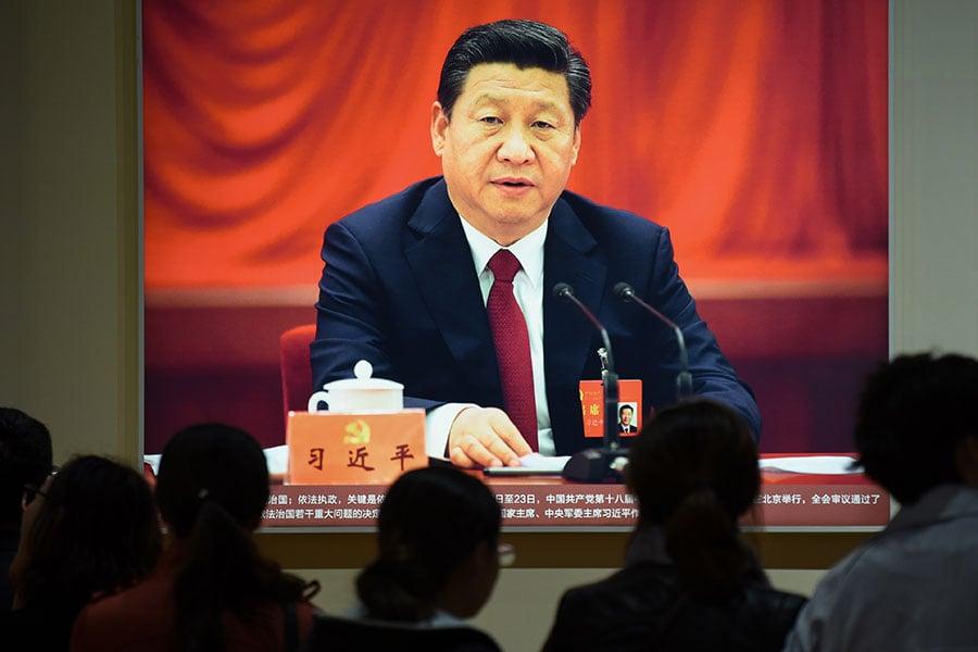 圖為習近平。(WANG ZHAO/AFP/Getty Images)