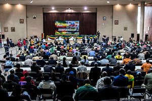 津巴布韋執政黨解除穆加貝黨內領導人職務