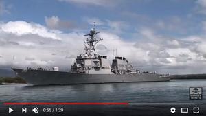 美驅逐艦與日本拖船相撞 無人員傷亡