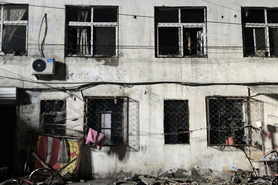 火災成藉口 北京「地毯式」清理外來人口