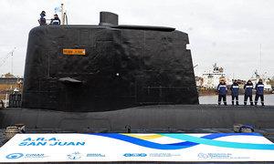 阿根廷潛艦失聯三天 國防部收到微弱衛星訊號