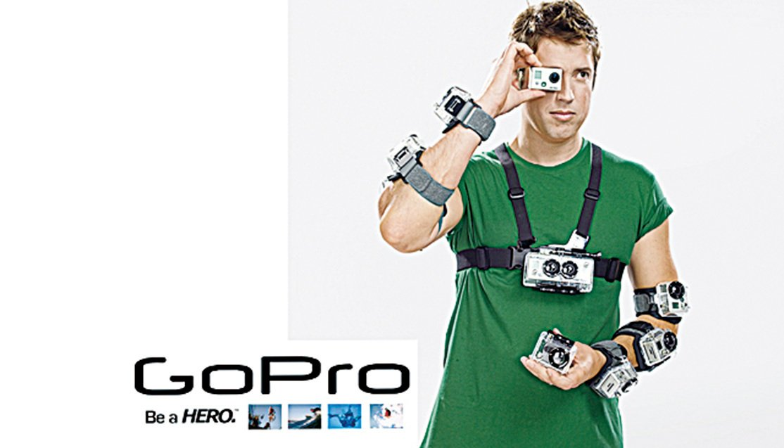 GoPro創始人伍德曼(Nick Woodman)。(網絡圖片)