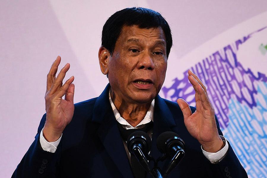 菲律賓總統:擬宣佈菲共為恐怖組織