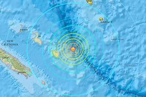 新喀里多尼亞7級強震 發生小規模海嘯
