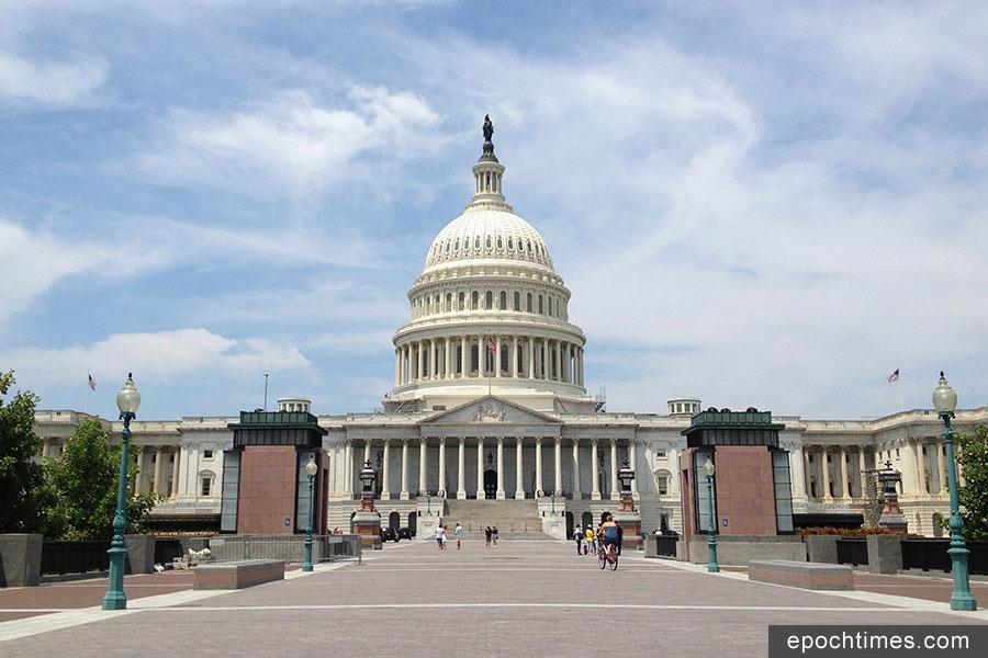 美國眾議院在周三(14日)以大比數通過《停止校園暴力法案》,並將其送交參議院審議。圖為美國國會大廈。(資料圖片)