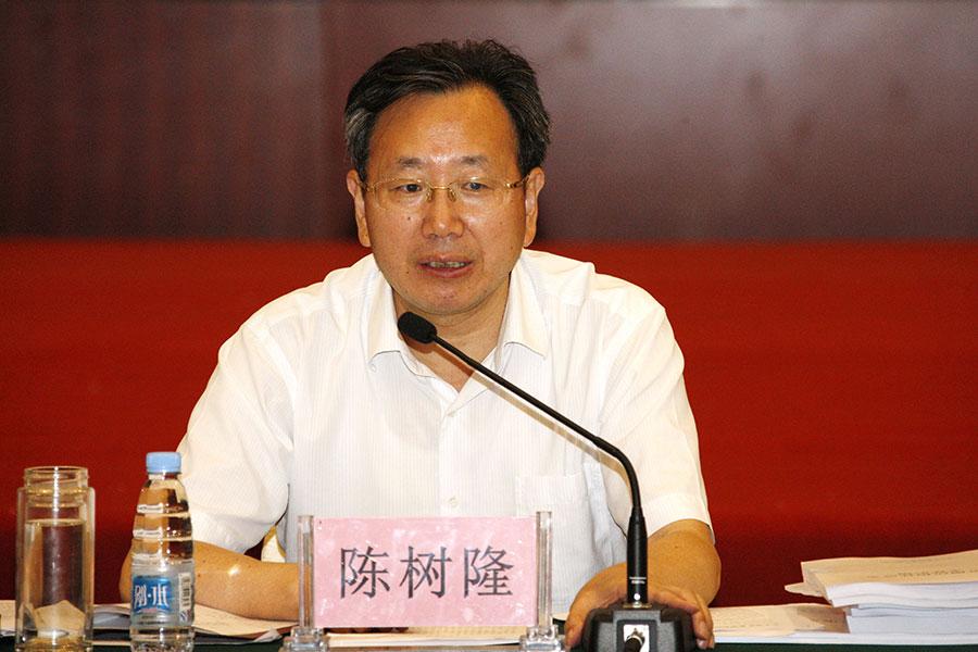 安徽前副省長陳樹隆落馬起因被曝光。(大紀元資料室)