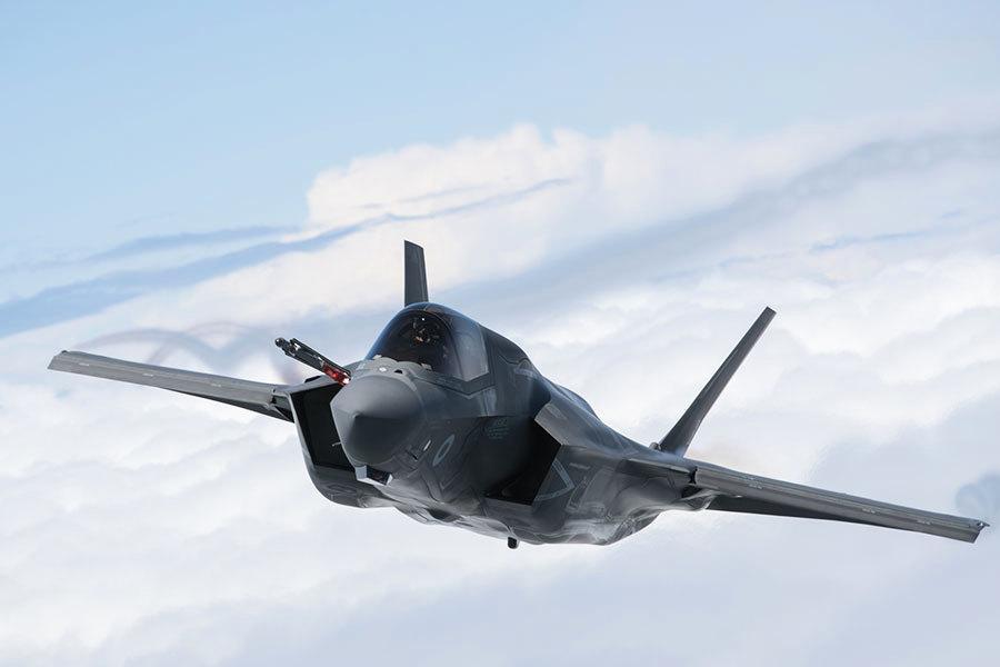 美F-35戰機中隊特別訓練 應對北韓核生化戰