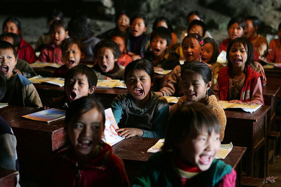 中共宣稱截至2050年,要將中國轉變為完全發達的經濟體,並特別強調促進創新和技術。但是外媒指出,中國低下的教育水平可能讓這個目標難以實現。(Cancan Chu/Getty Images)