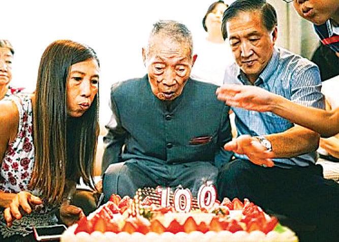 百歲人瑞夢見大限  三周後「如期」逝世