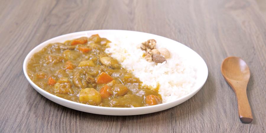 美味健康的雞肉咖喱飯