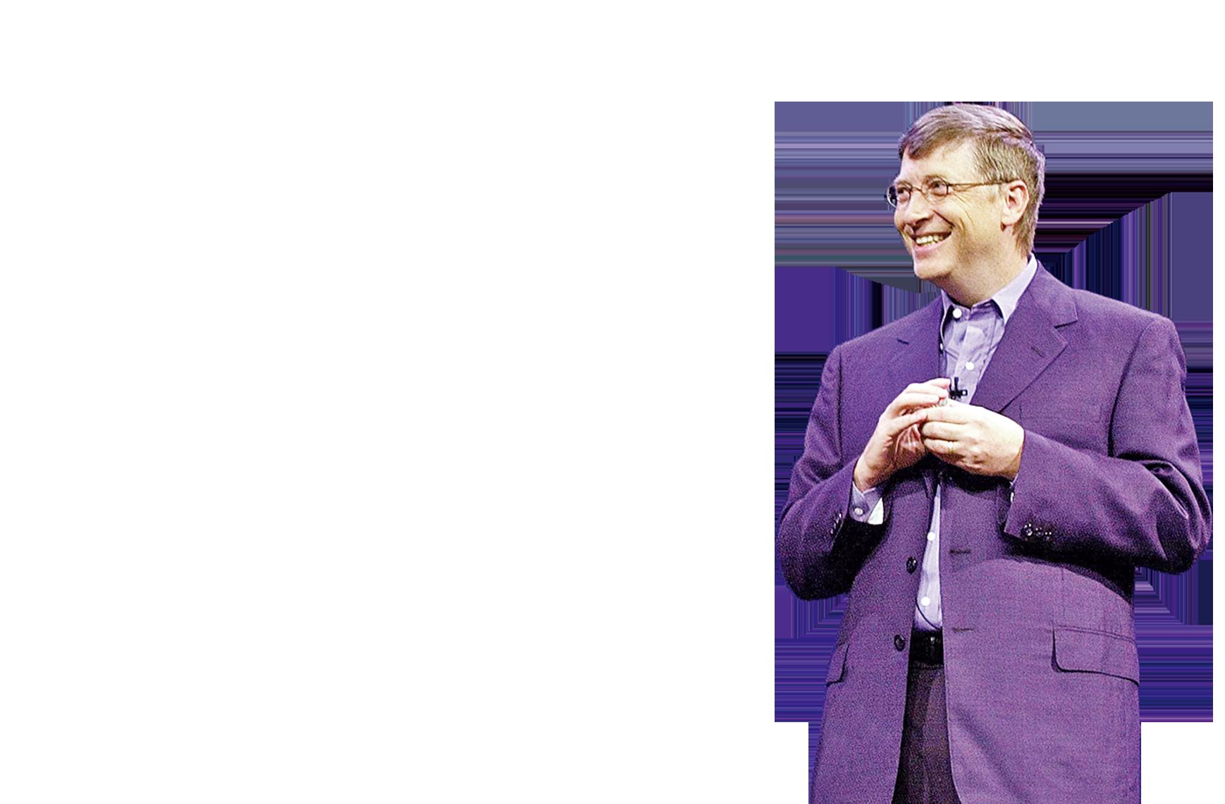 微軟創始人蓋茨。(AFP)