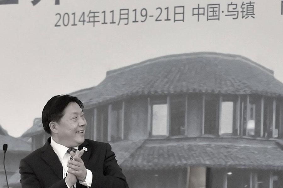 11月21日,中共中宣部原副部長、前國家網信辦主任魯煒落馬被查。(Photo by VCG/VCG via Getty Images)