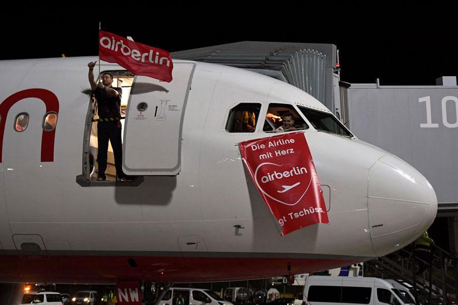 柏林航空破產後,漢莎接手了其大部份業務,但漢莎對柏林航空的收購是否能達成,還要等歐盟的評估報告,因為可能涉嫌壟斷。(Andreas Gebert/Getty Images)