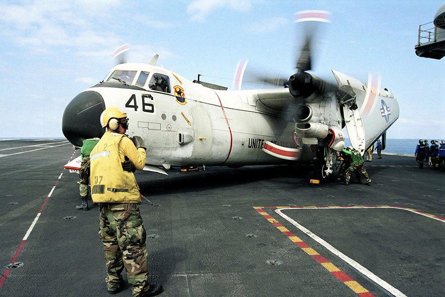 美軍運輸機日本沖繩海域墜落 3人下落不明